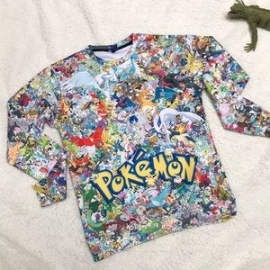 Pokémon character pullover